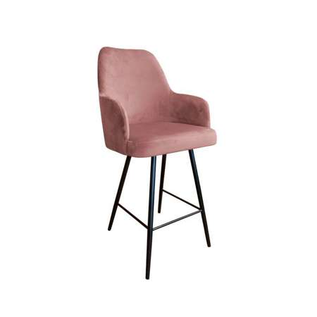Coral upholstered PEGAZ hoker material MG-58