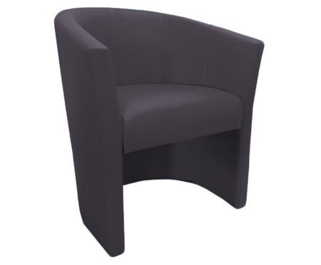 Dark gray CAMPARI armchair