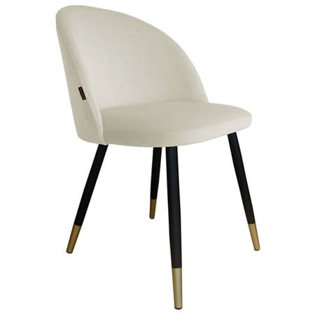 KALIPSO chair white material MG-50 with golden leg