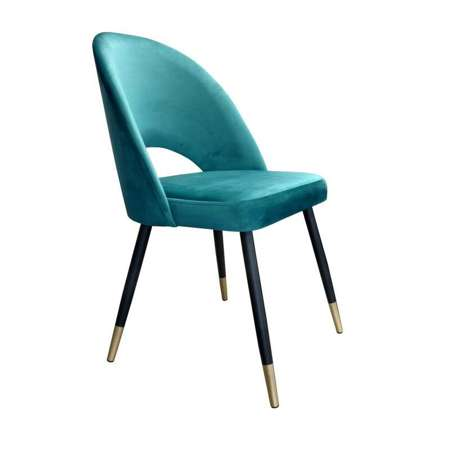 Marine upholstered LUNA chair material MG-20 with golden leg