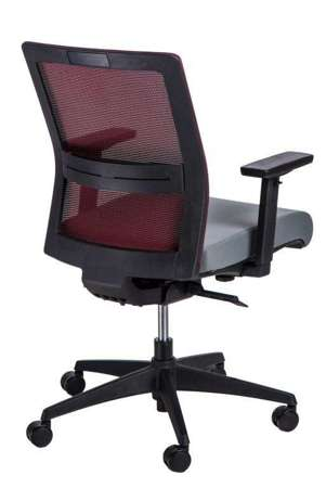 Office chair Press red / gray