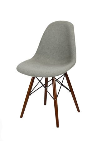 SK DESIGN KR012 UPHOLSTERED CHAIR MALAGA06 WENGE