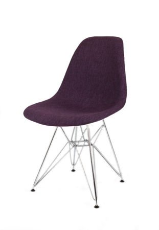 SK DESIGN KR012 UPHOLSTERED CHAIR MUNA17 CHROME