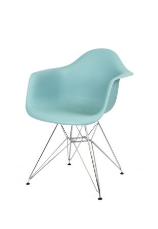 SK DESIGN KR012F SURFIN ARMCHAIR CHROME