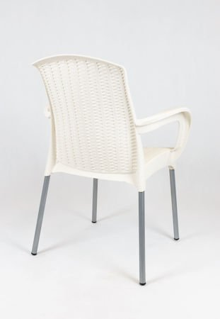 SK DESIGN KR040 CREAM POLYPROPYLENE CHAIR