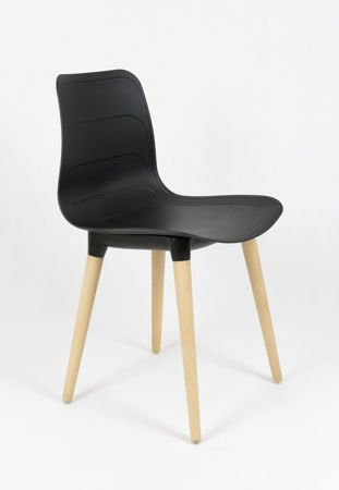 SK DESIGN KR062 BLACK CHAIR