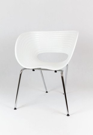 SK Design KR011 White Chair