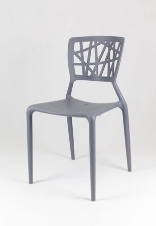 SK Design KR014 Grey Chair