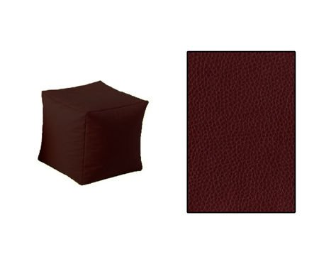 SKN Pouf Brown Cubes