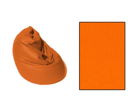 SKN Pouf SAKO Orange 250L
