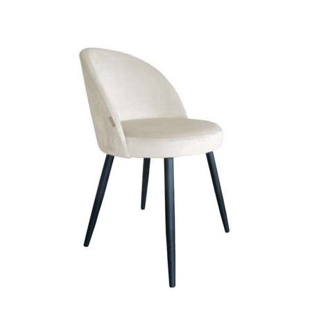 White upholstered CENTAUR chair material MG-50