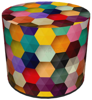 SKP BERTONI DECORATIVE POUF FACTOR HD