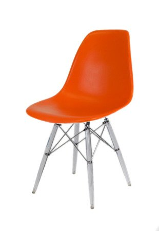 SK Design KR012 Orange Stuhl Klar